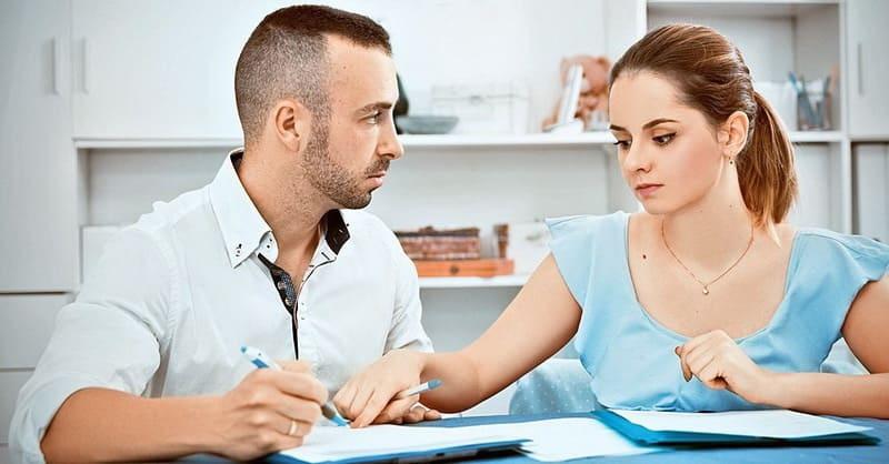 Раздел кредитов и долгов между супругами при разводе