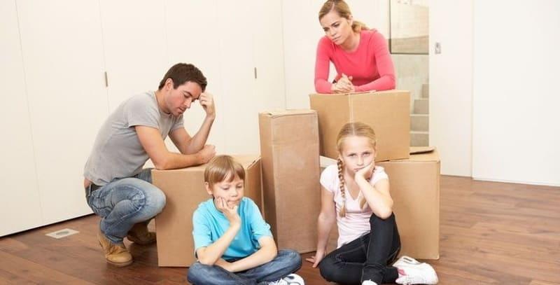 Как делится имущество при разводе с детьми